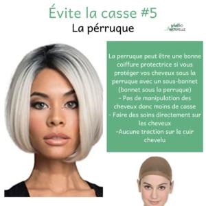 perruque et alopécie de tracation